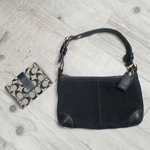Coach purse and wallet EUC
